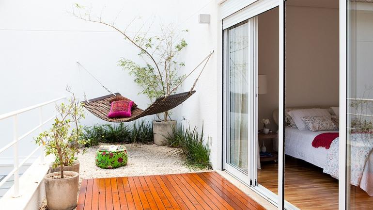 Como usar redes de descanso na decoração da varanda?